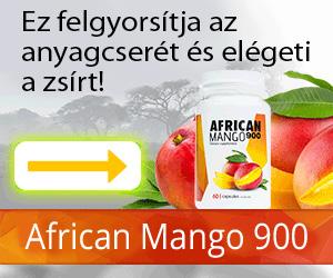 AfricanMango900 - fogyás