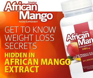 African Mango - fogyás
