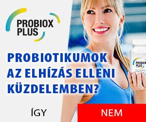 Probiox Plus - probiotikumok