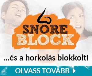 SnoreBlock - alvás